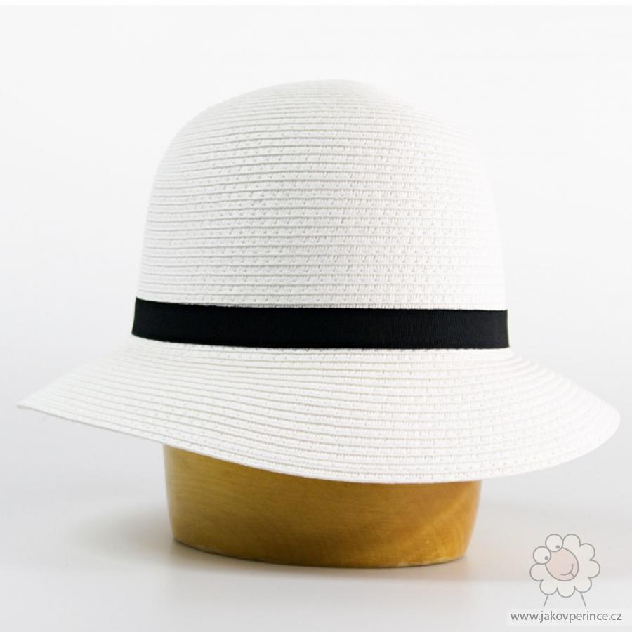 2f22a7dc8ae Karpet dámský klobouk papírový zdobený rypsovou stuhou Jako v peřince