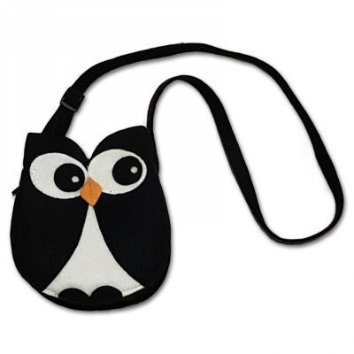 Kabelka dětská filcová Tučňák